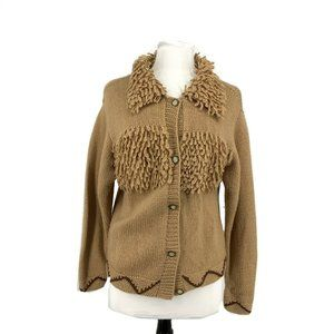 For You! Vintage Small S Button Cardigan Sweater